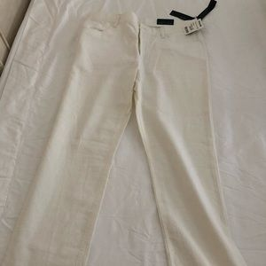 Never worn white men's pants